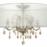 Hinkley Drum Shade Semi Flush
