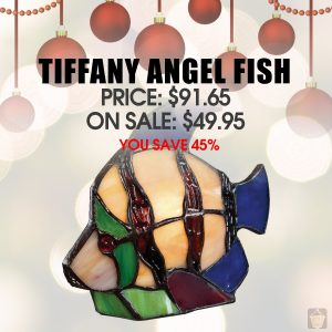 Tiffany Angel fish Lamp