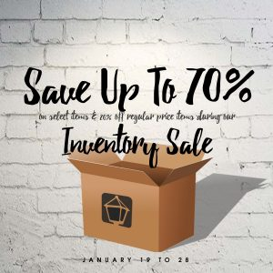 inventory sale norburn lighting