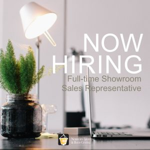 Full-time Showroom Sales Representative