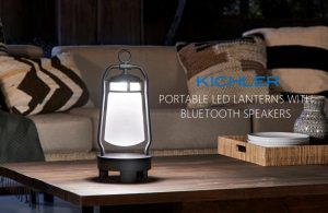 BLUETOOTH LANTERNS BY KICHLER